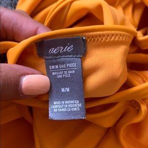 aerie Swim - NWOT Aerie orange one piece